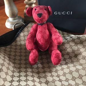 6b660ff84d6 Gucci Accessories - Gucci RARE GG monogram Canvas Teddy Bear
